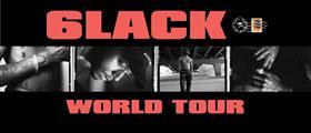 6lack Australian Tour 2018