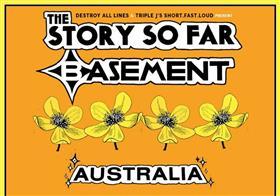 The Story So Far and Basement Australian Tour 2019
