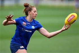 AFLW 3.0, Round 1: Kangaroos v Carlton