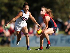 AFLW 3.0, Round 1: Melbourne v Fremantle