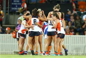 AFLW 3.0, Round 7: GWS GIANTS vs Geelong Cats