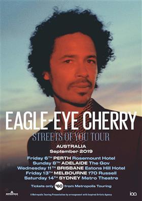 Eagle-Eye Cherry Australian Tour 2019