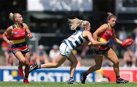 AFLW 3.0, Preliminary Final: Adelaide Crows v...