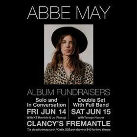 ABBE MAY Album Fundraisers