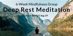 6-Week Deep Rest (iRest) Mediation Program