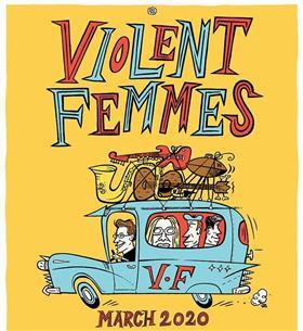 Violent Femmes Australian Tour 2020