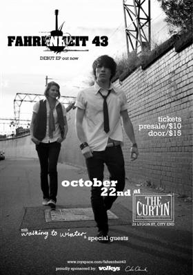 Fahrenheit 43 EP Launch