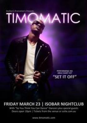 Timomatic Live Club Show