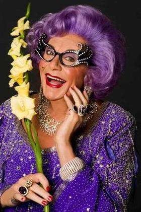 Dame Edna's 'Eat, Pray, Laugh!' Farewell Tour