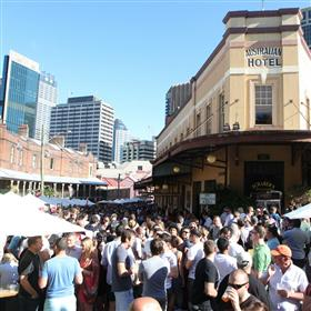 9th Annual Australian Beer Festival - Good Food Month 2013