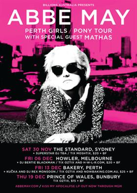 Abbe May Australian Tour 2013