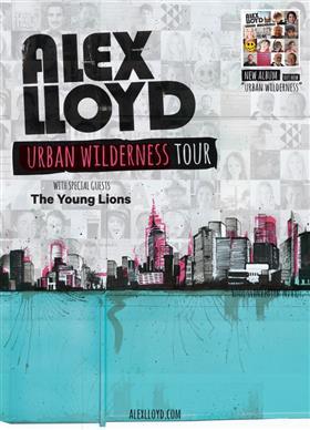 Alex Lloyd 'Urban Wilderness' 2014 Australian Tour