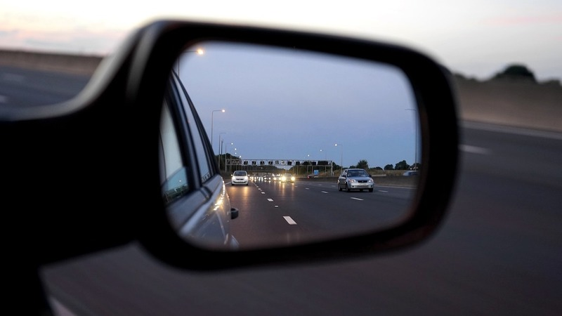 You must ensure you properly check your blind spots during the driving test