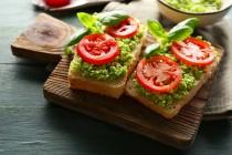 sauted-veggies-toast