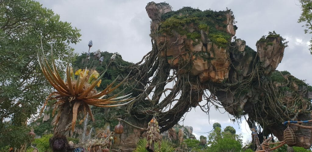 Wander through Pandora at Disney World