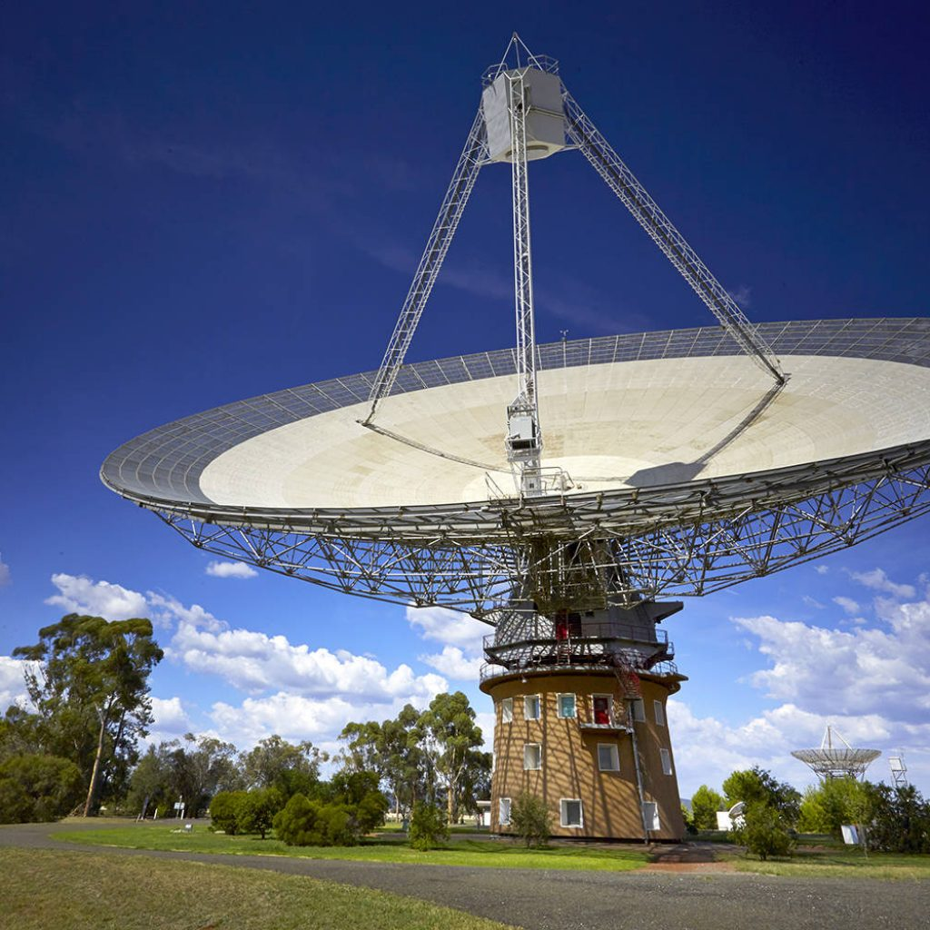 Visit the iconic CSIRO Radio Telescope known as 'the Dish'