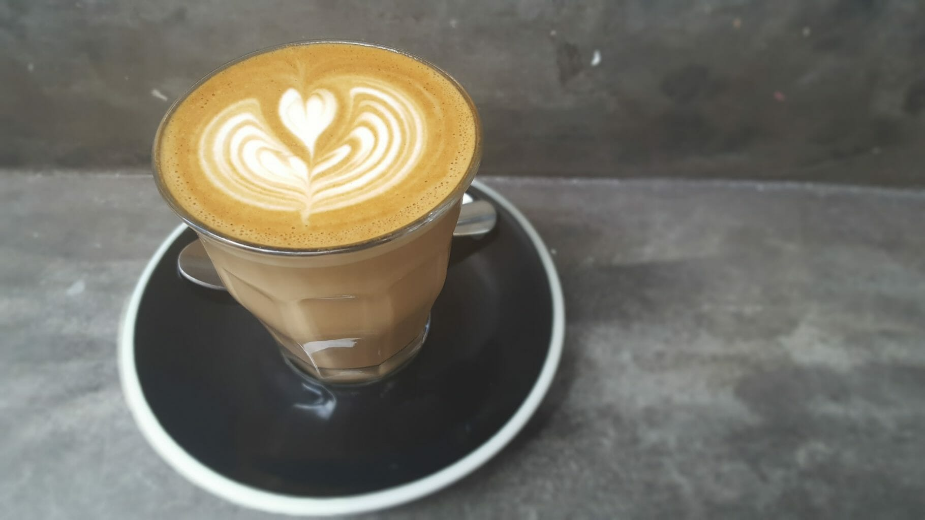 Latte from Peel Street Espresso