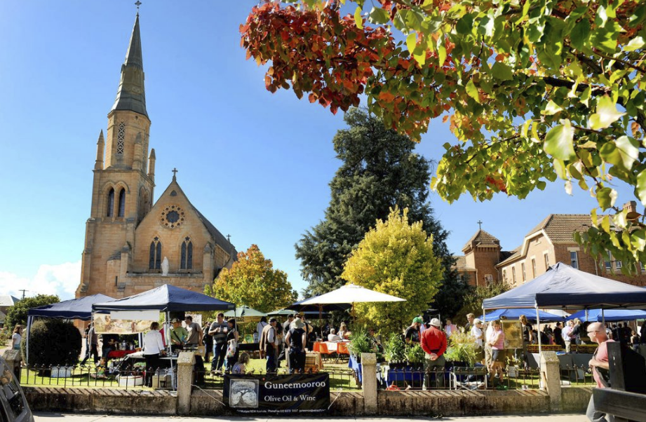 Mudgee growers market is definitely worth a look with a great range of local produce to buy.