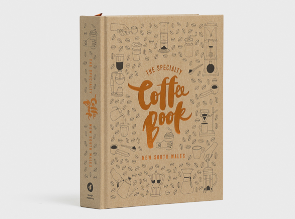 """Coffee Book' front cover from SMudge"