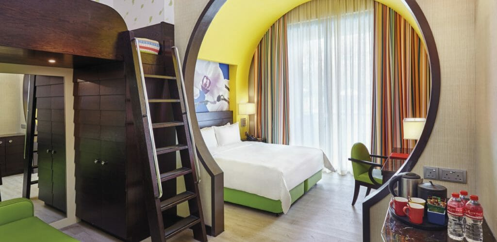 Singapore family hotel rooms