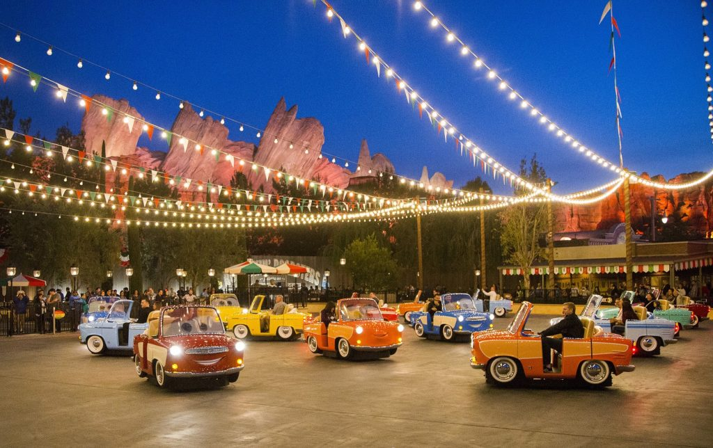 Luigi's Rollickin' Roadsters. Picture: Paul Hiffmeyer/Disneyland Resort
