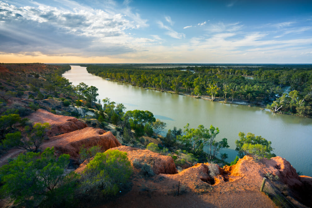 13. The Murray River