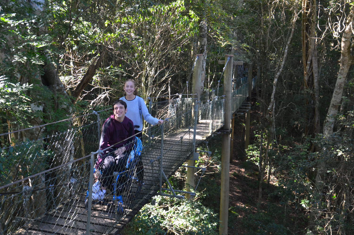 wheelchair-friendly family holiday