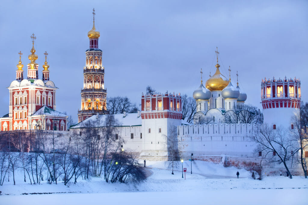 White Christmas destinations Moscow