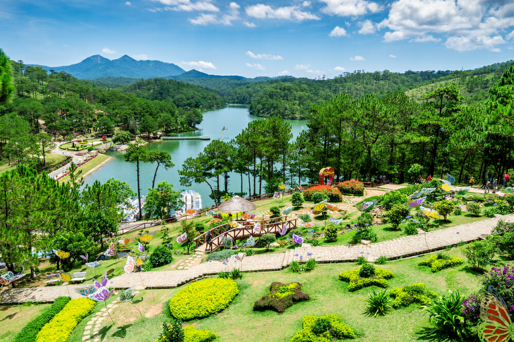 Da Lat Vietnam with kids