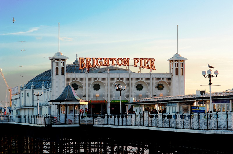The Brighton Pier, also known as the Palace Pier first opened in 1899. Picture: Shutterstock