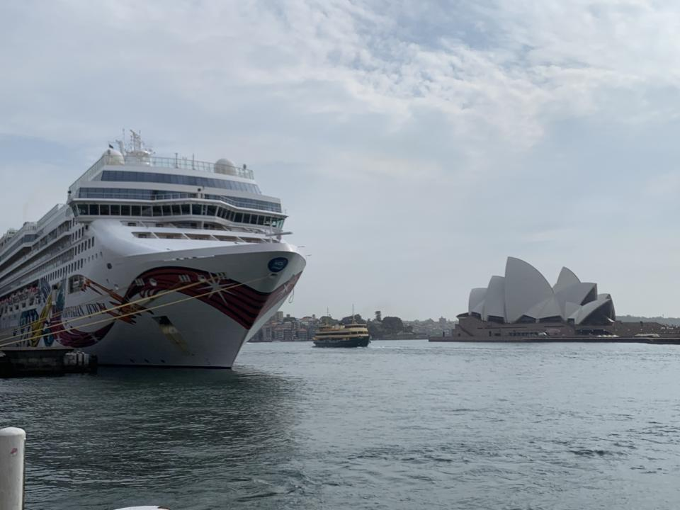 The Norwegian Jewel, Sydney Harbour