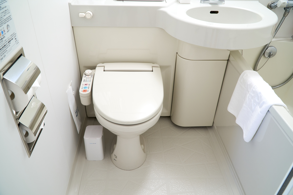 Japanese toilets are high tech