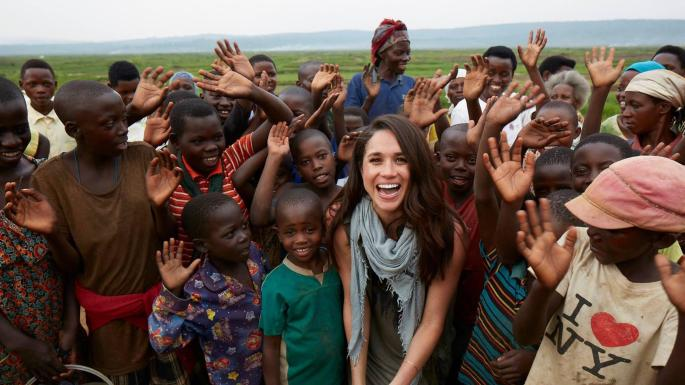 Prince Harry and Meghan - Africa