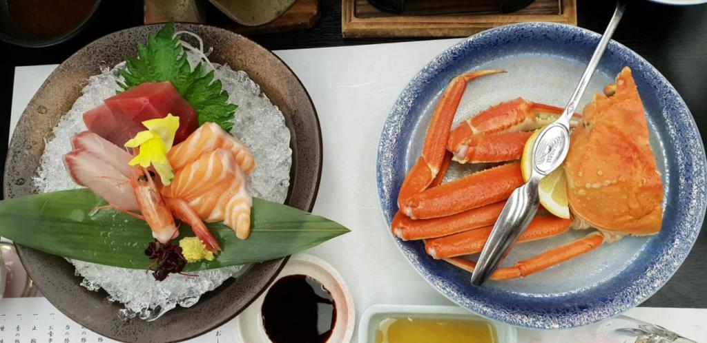 Snow crab: Japanese food in Japan