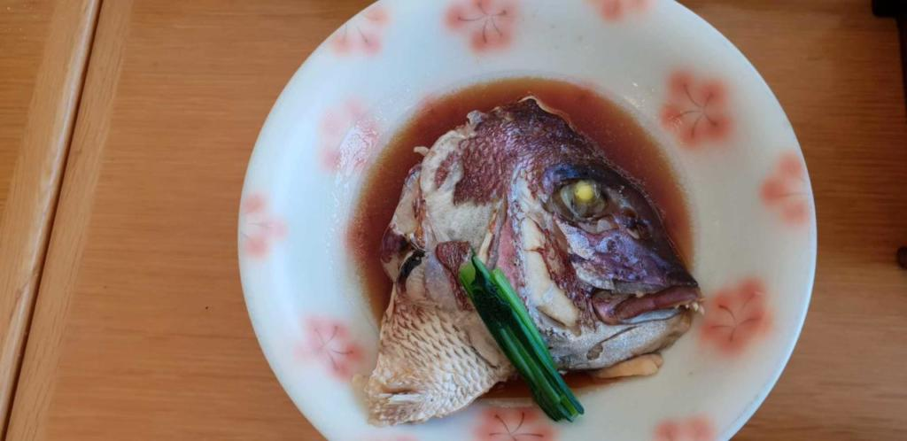 Fish head soup: Japanese food in Japan