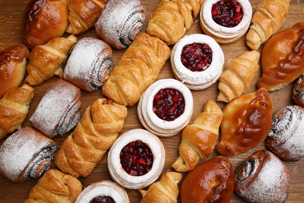 International cuisine, French pastries