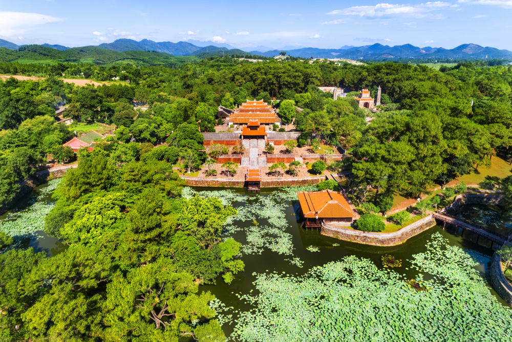11. Explore the home and tombs of kings in Hue