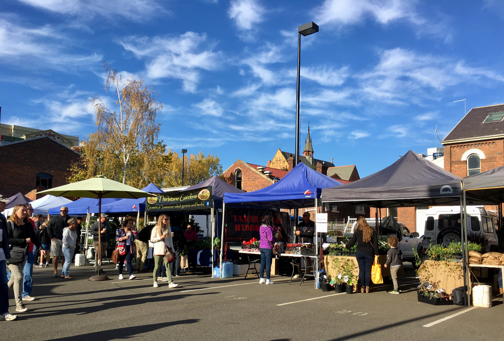 Harvest Farmers Market Launceston.