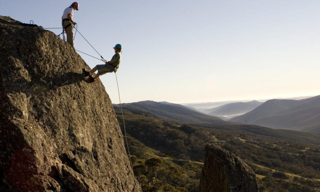 Abseiling in Thredbo