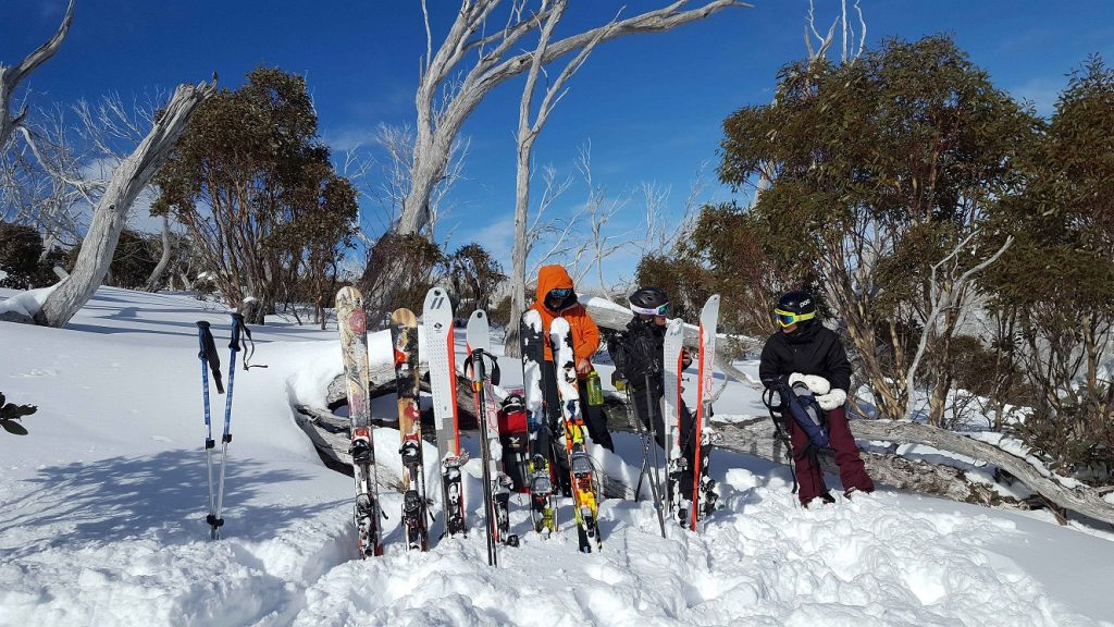 Snowy Mountains with kids