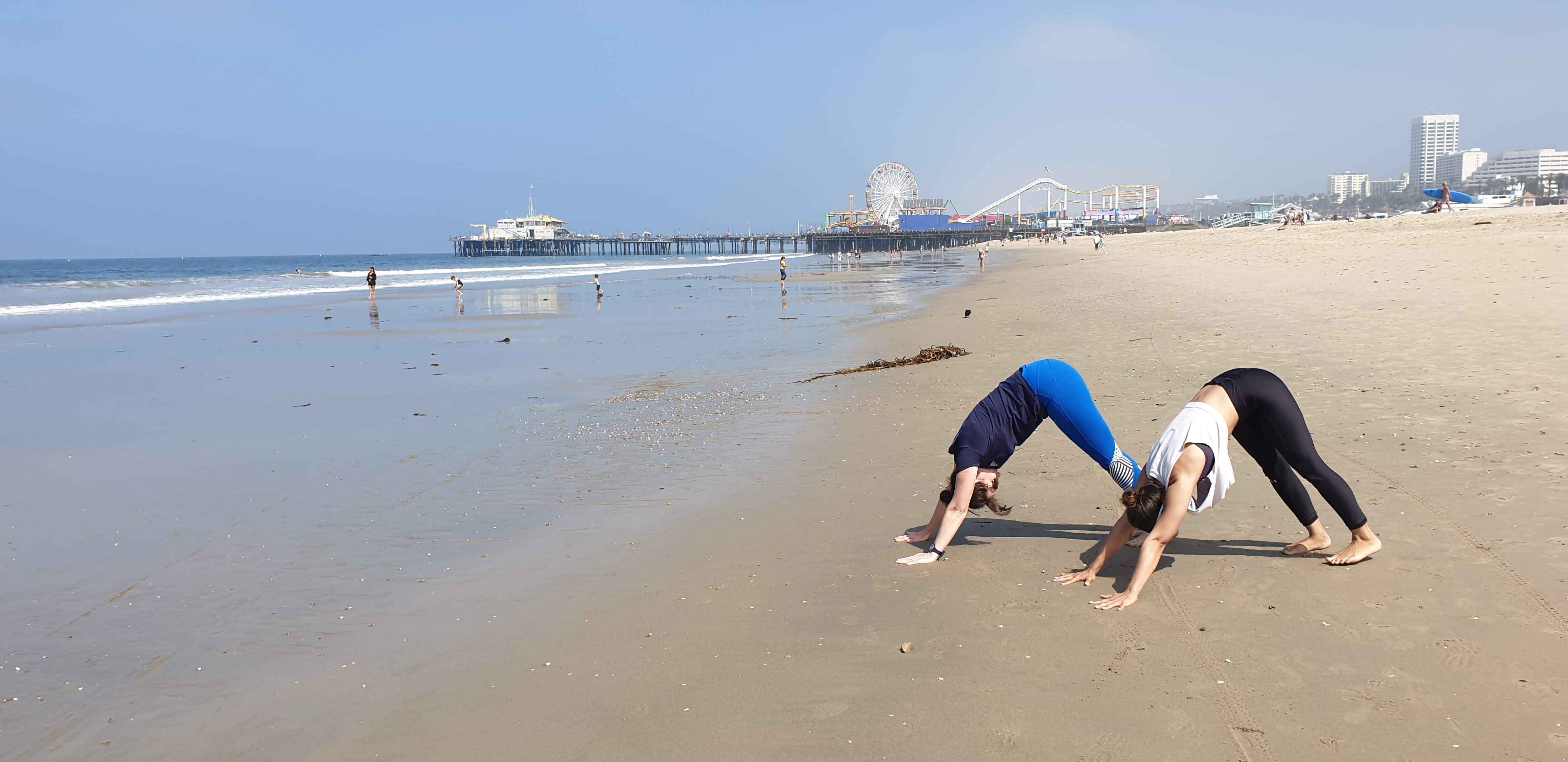 Beach Yoga Santa Monica