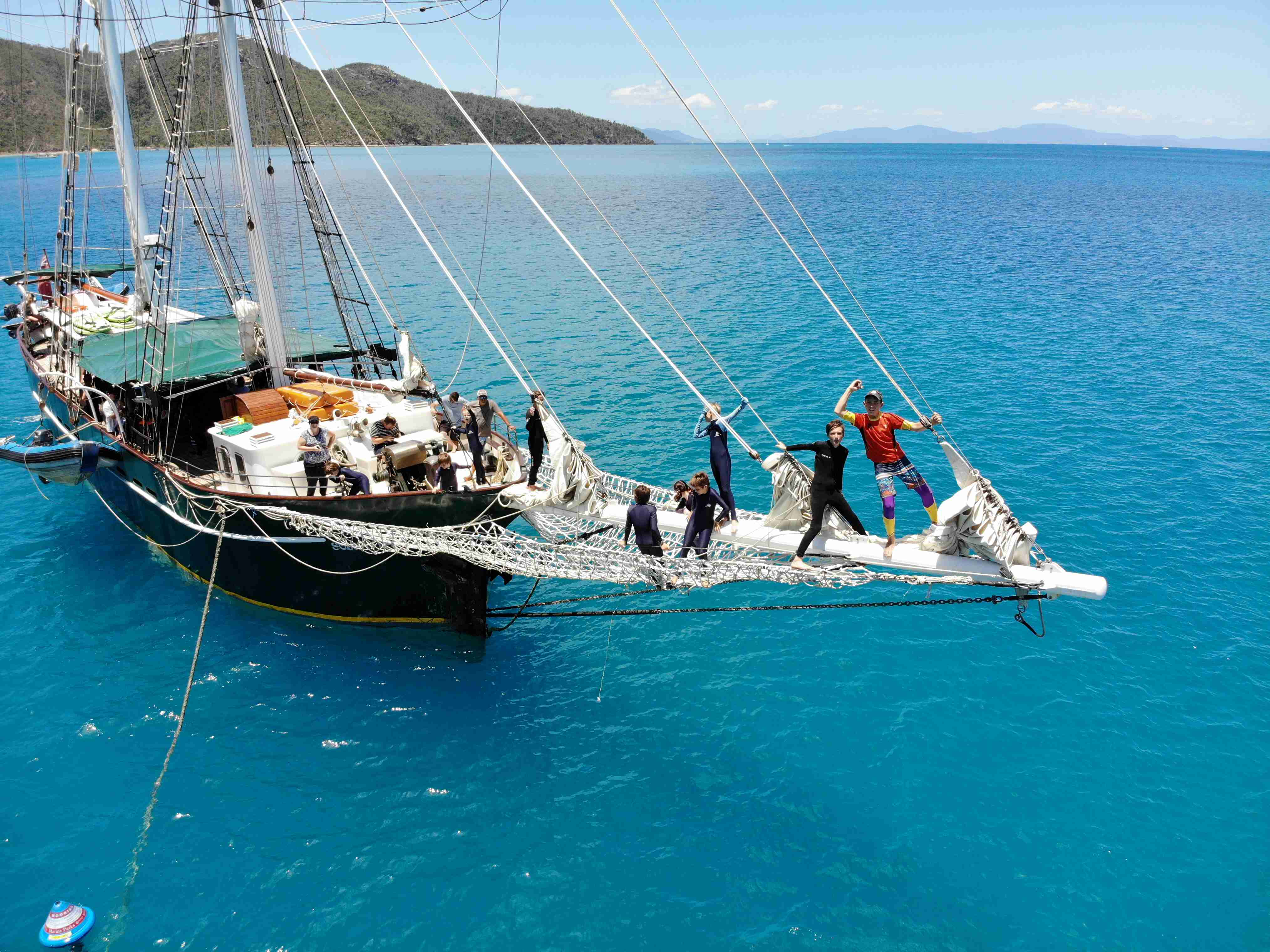 Want a Whitsundays sailing adventure? Try a pirate ship