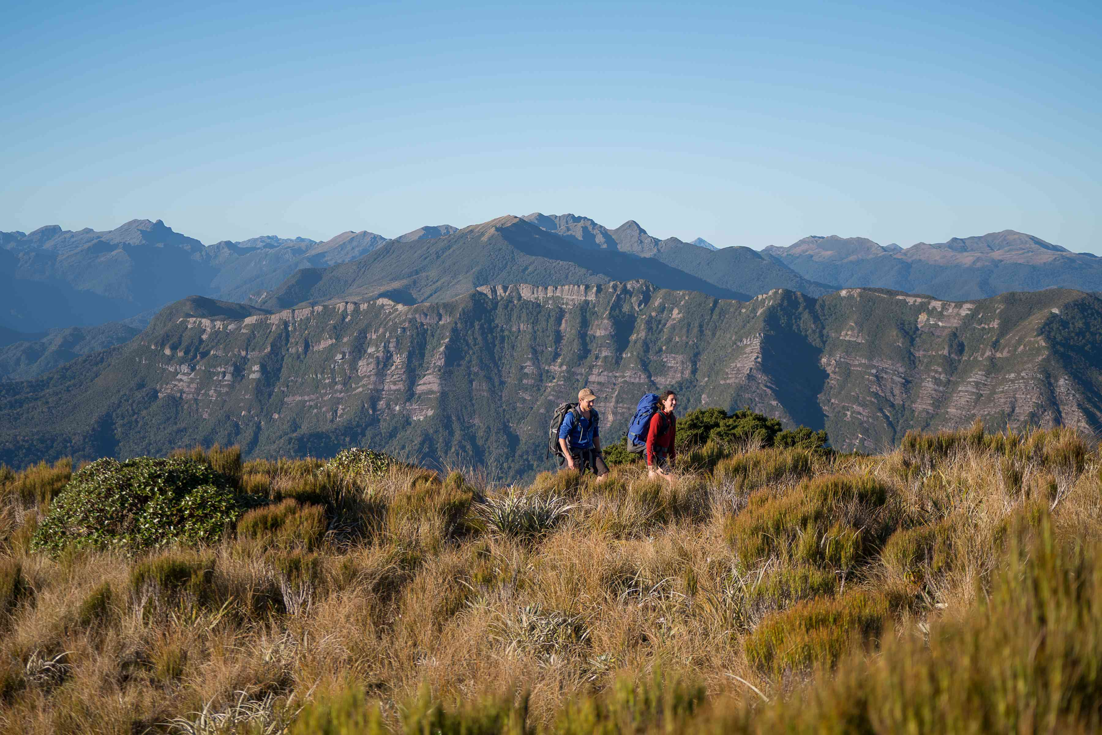 The new Paparoa Track in New Zealand