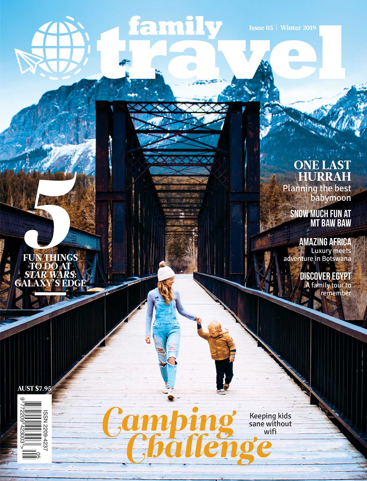 Family Travel mag #5 cover