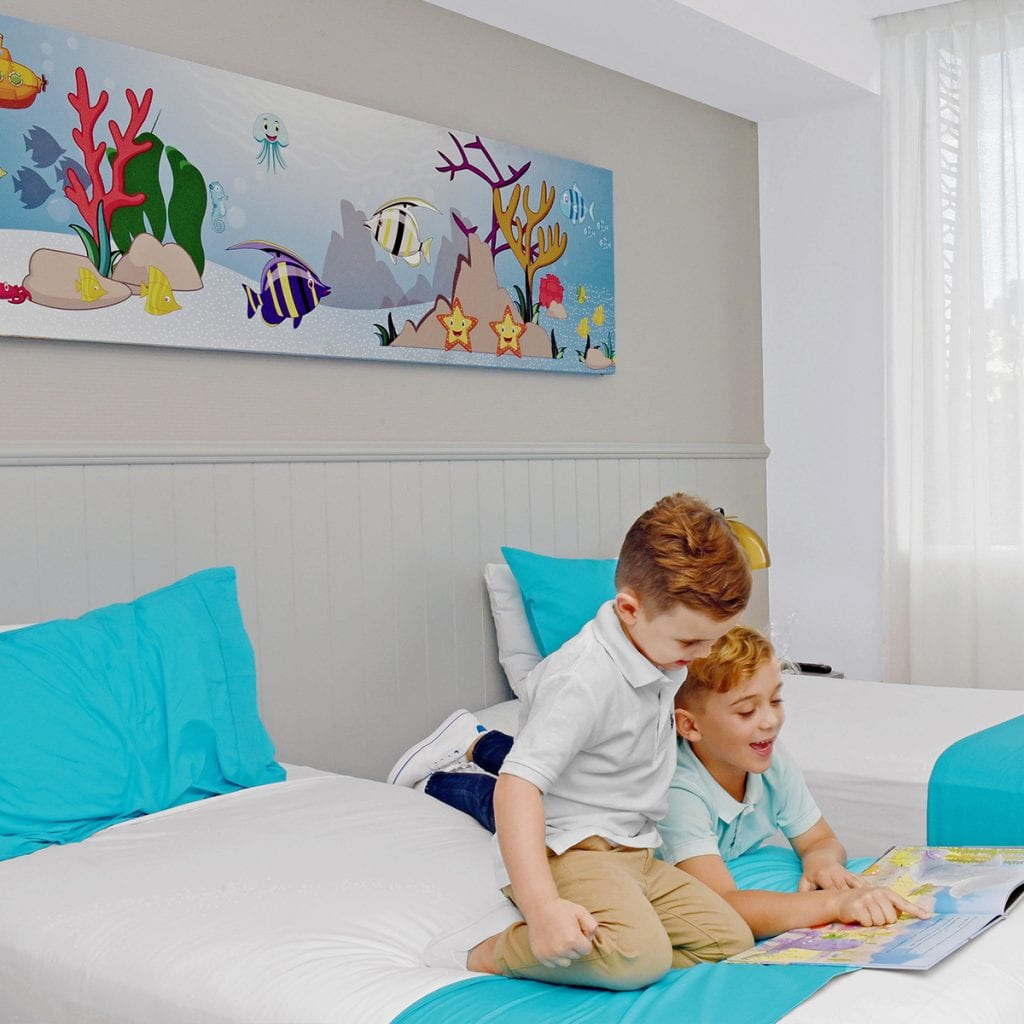 Mantra Sharks family room