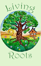 Living Roots Farm and Sustainable Living Center Logo