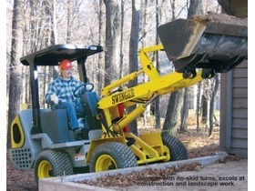 Swinger articulating loader