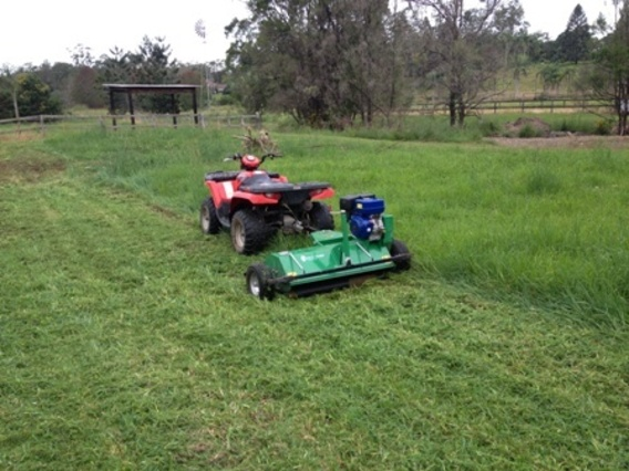 Field Chief ATV Independent Flail Mower