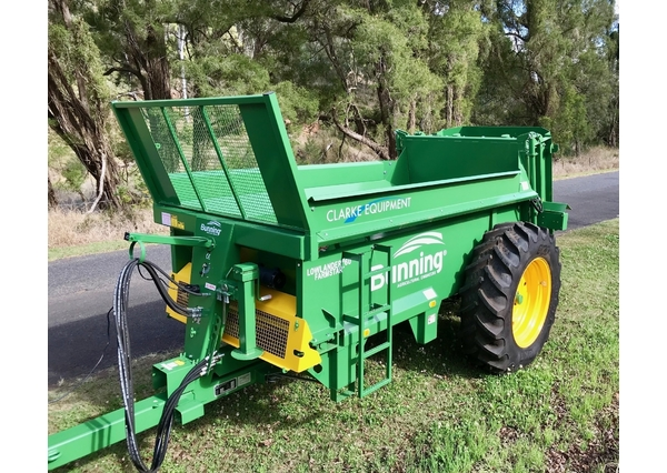 Bunning 60 Manure Spreader for sale | Machinery | Spreaders