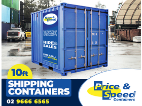 Shipping Containers for Sale and Hire (10ft) for sale